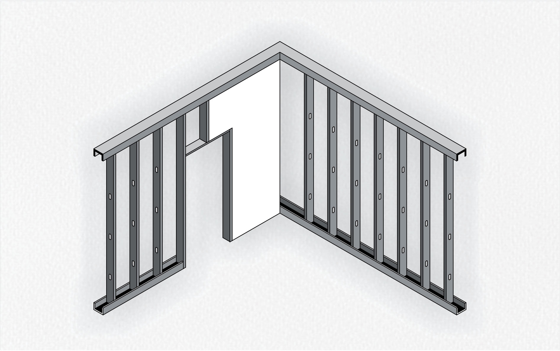 sistema constructivo steel frame